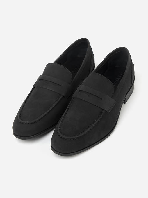 charcoal-grey-suede-leather-loafers-242107-1
